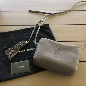 YSL yves saint laurent Lou crossbody camera bag